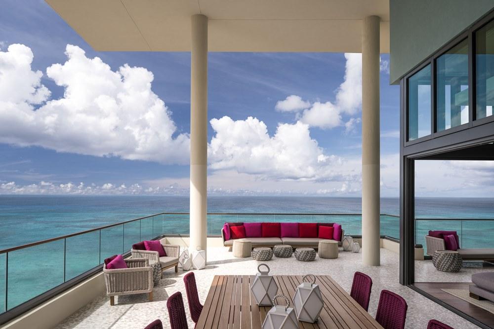 Kimpton Seafire, Presidential Suite, Balcony