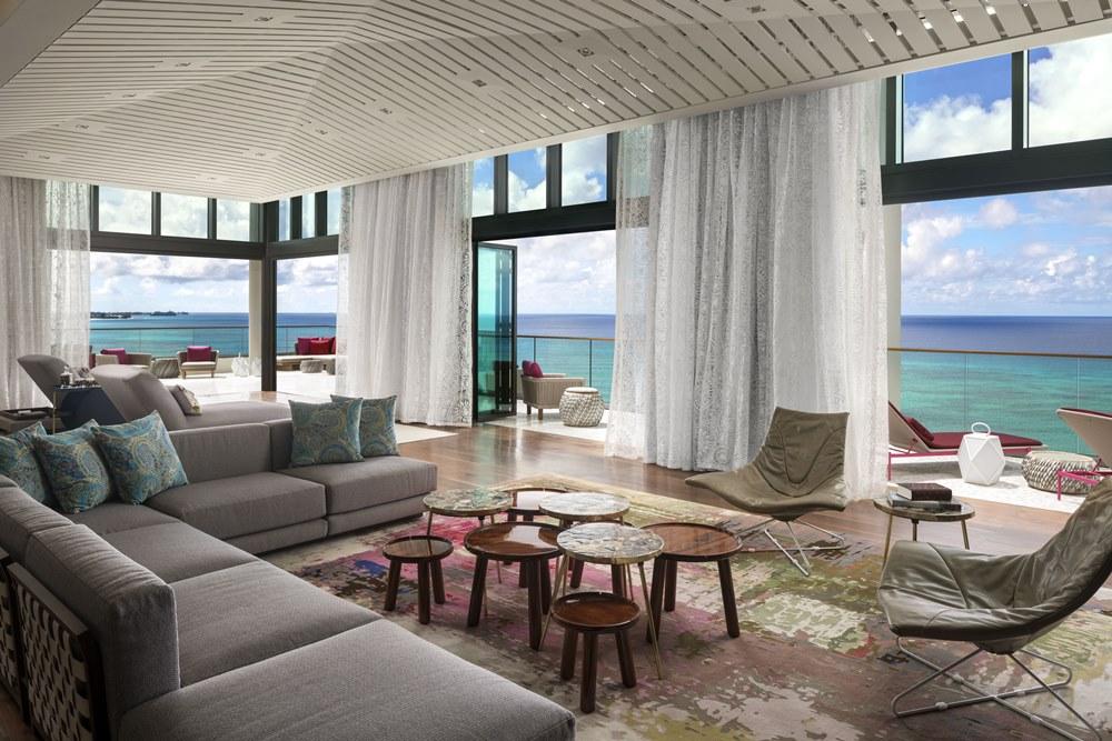 Kimpton Seafire, Presidential Suite, Living area