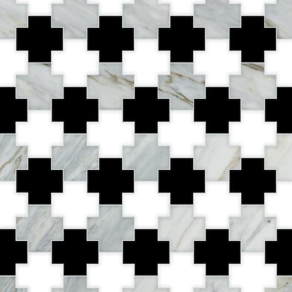 Addison stone mosaic