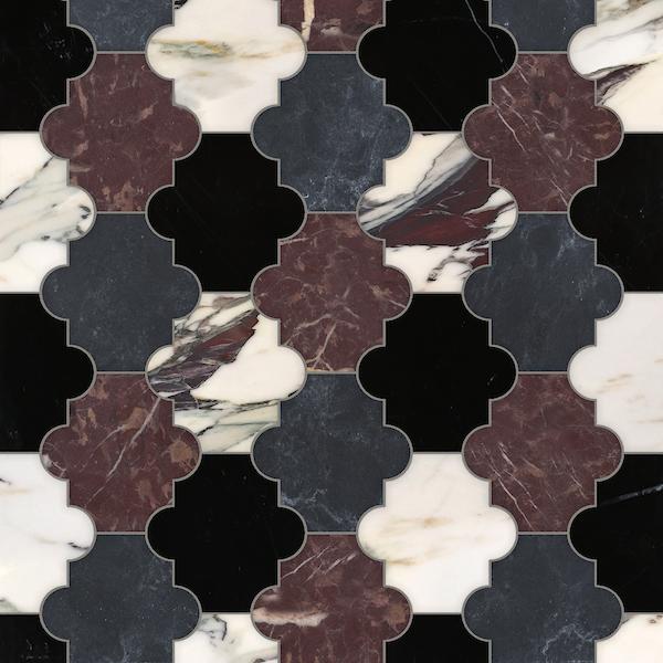 Andre stone mosaic