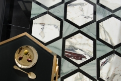 Hugo stone mosaic