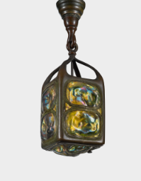 "Lot 20: Tiffany Studios ""Turtle-Back"" Lantern"