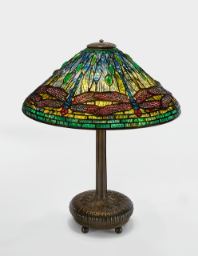 "Lot 6: Tiffany Studios ""Dragonfly"" Table Lamp"