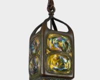 "Lot 20: Tiffany Studios ""Turtle-Back"" Lantern"