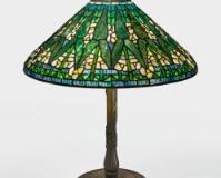 "Lot 38: Tiffany Studios ""Arrowhead"" Table Lamp"