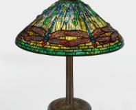 "Lot 6: Tiffany Studios ""Dragonfly"" Table Lamp"