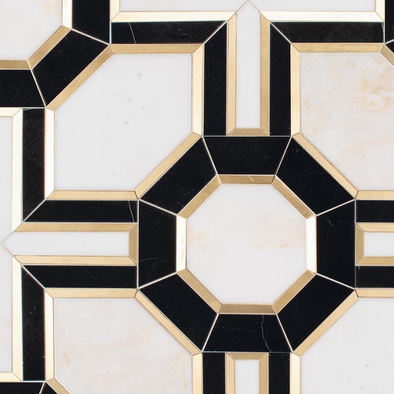 Tristan stone mosaic