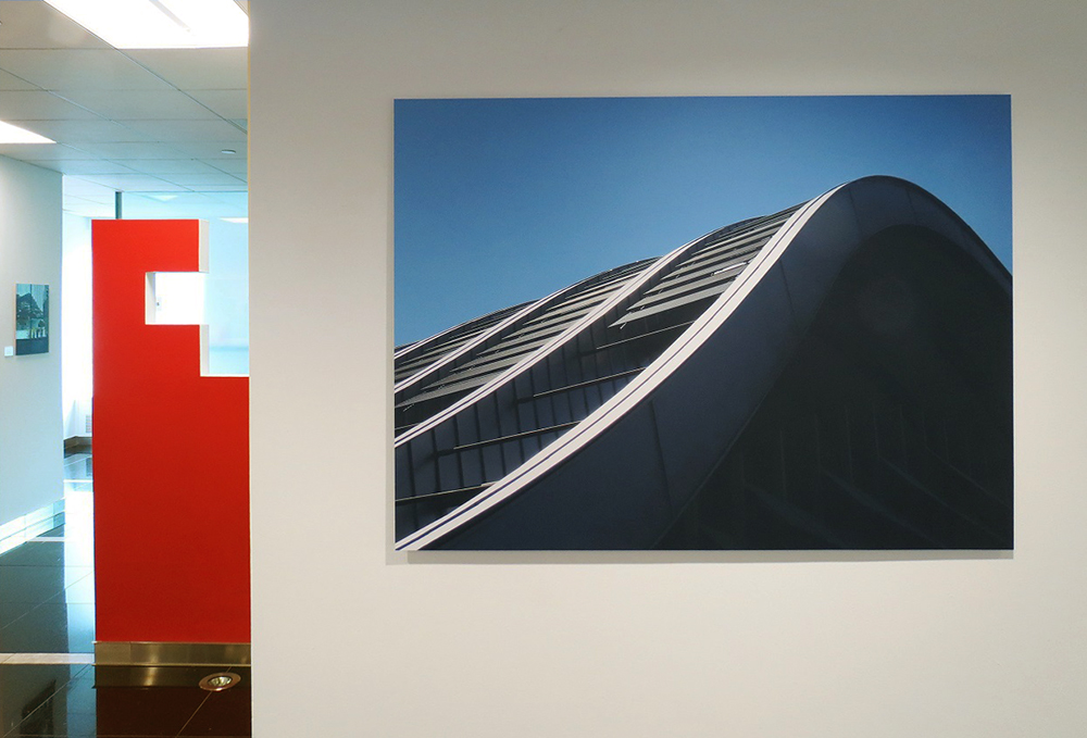 Installation shot featuring Zentrum Paul Klee by Renzo Piano Building Workshop