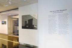 Installation shot, Paul Clemence at Swiss Consulate