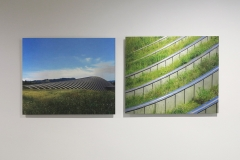 Installation shot featuring Zentrum Paul Klee by Renzo Piano Building Workshop