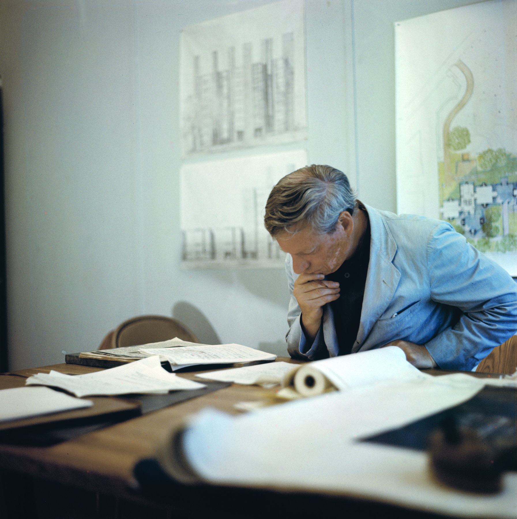 Louis Kahn, Office