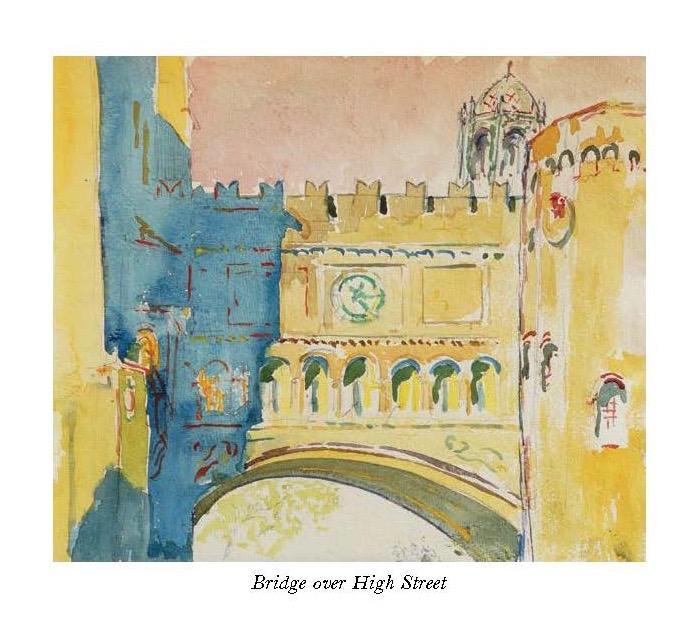 The Stones of Yale: Bridge, High Street