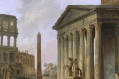 Hubert Robert (French, 1733–1808) Landscape with a Temple, ca. 1765–1800 Oil on canvas Chrysler Museum of Art, gift of Walter P. Chrysler, Jr. 81.1