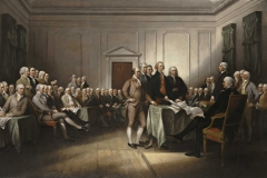 John Trumbull (American, 1756−1843) The Declaration of Independence, July 4, 1776, 1832 Oil on canvas Wadsworth Atheneum Museum of Art, Hartford, CT Purchased by Daniel Wadsworth and members of the Atheneum Committee, 1844.3 Photography credit: Allen Phillips/Wadsworth Atheneum
