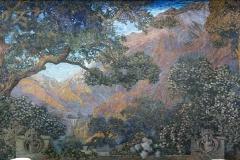 Mural, The Dream Garden, 1916. Tiffany Studios.