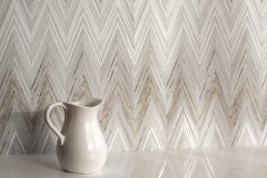 Twill Ombre Stone Mosaic Wall
