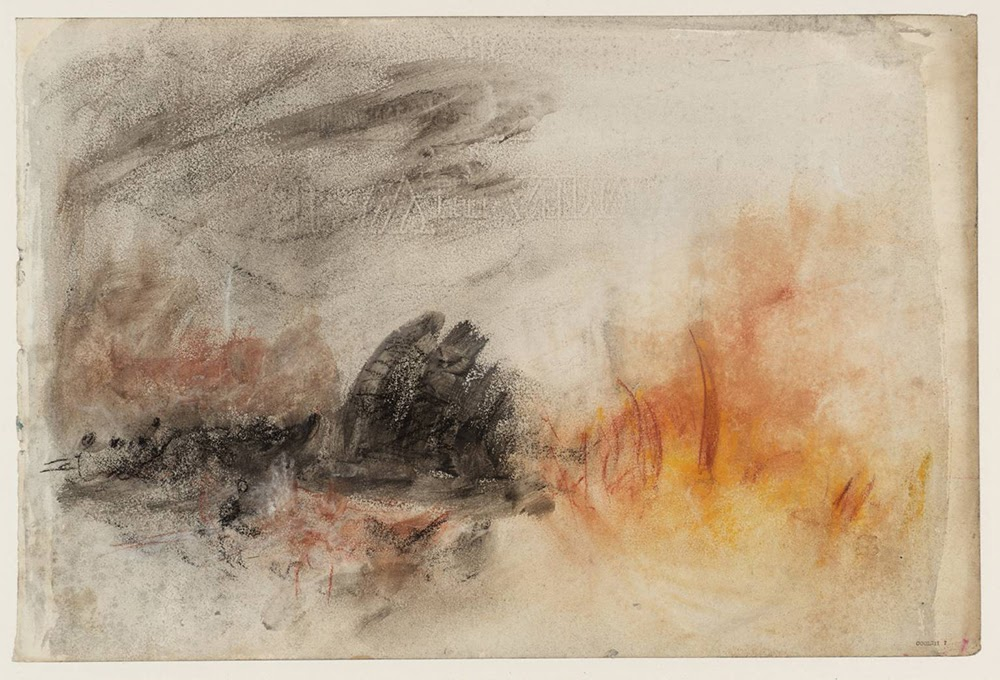 Burning Blubber circa 1844-5 Joseph Mallord William Turner 1775-1851 Accepted by the nation as part of the Turner Bequest 1856 http://www.tate.org.uk/art/work/D35246