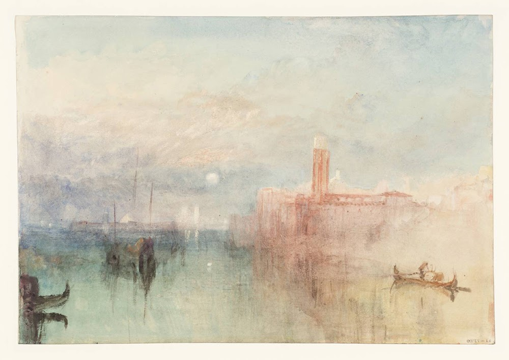 Venice, Moonrise 1840 Joseph Mallord William Turner 1775-1851 Accepted by the nation as part of the Turner Bequest 1856 http://www.tate.org.uk/art/work/D32126