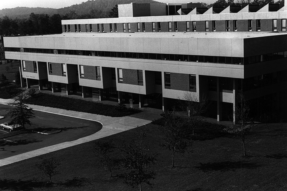 Brown Hall, School of Law, 1977-78, U. Va.