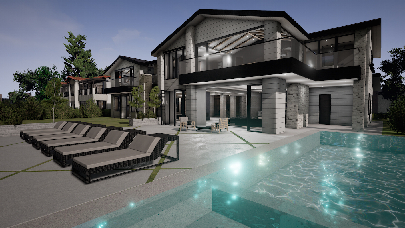 Virtual reality for building a home architects and artisans for Virtual house building