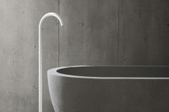 VOLA Floor-mounted bath-filler, Matte White