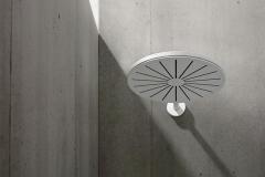 VOLA round showerhead, Matte White