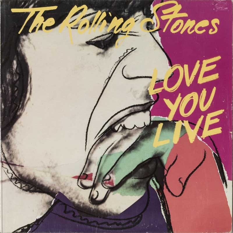 Warhol, Rolling Stones