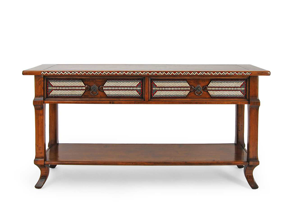 Robert Seliger, War Vest Sofa Table