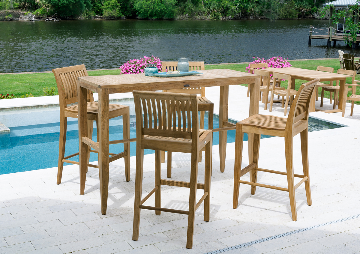Westminster Teak, Laguna Five-Piece Bar Set