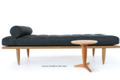 Westminster Teak, Saloma Daybed + Side Table