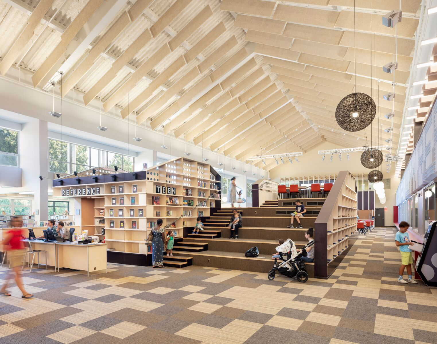 Westport Library, HMA2 Architects; Photo © Chris Payne / ESTO