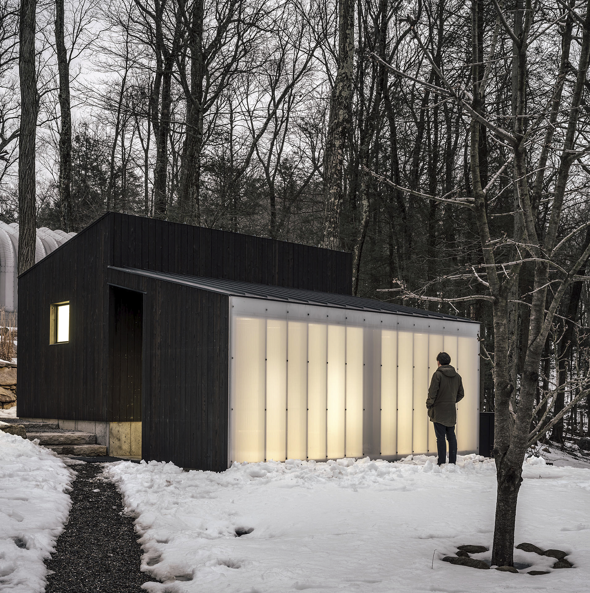 Small Wooden Pavilion, Garrison, NY2