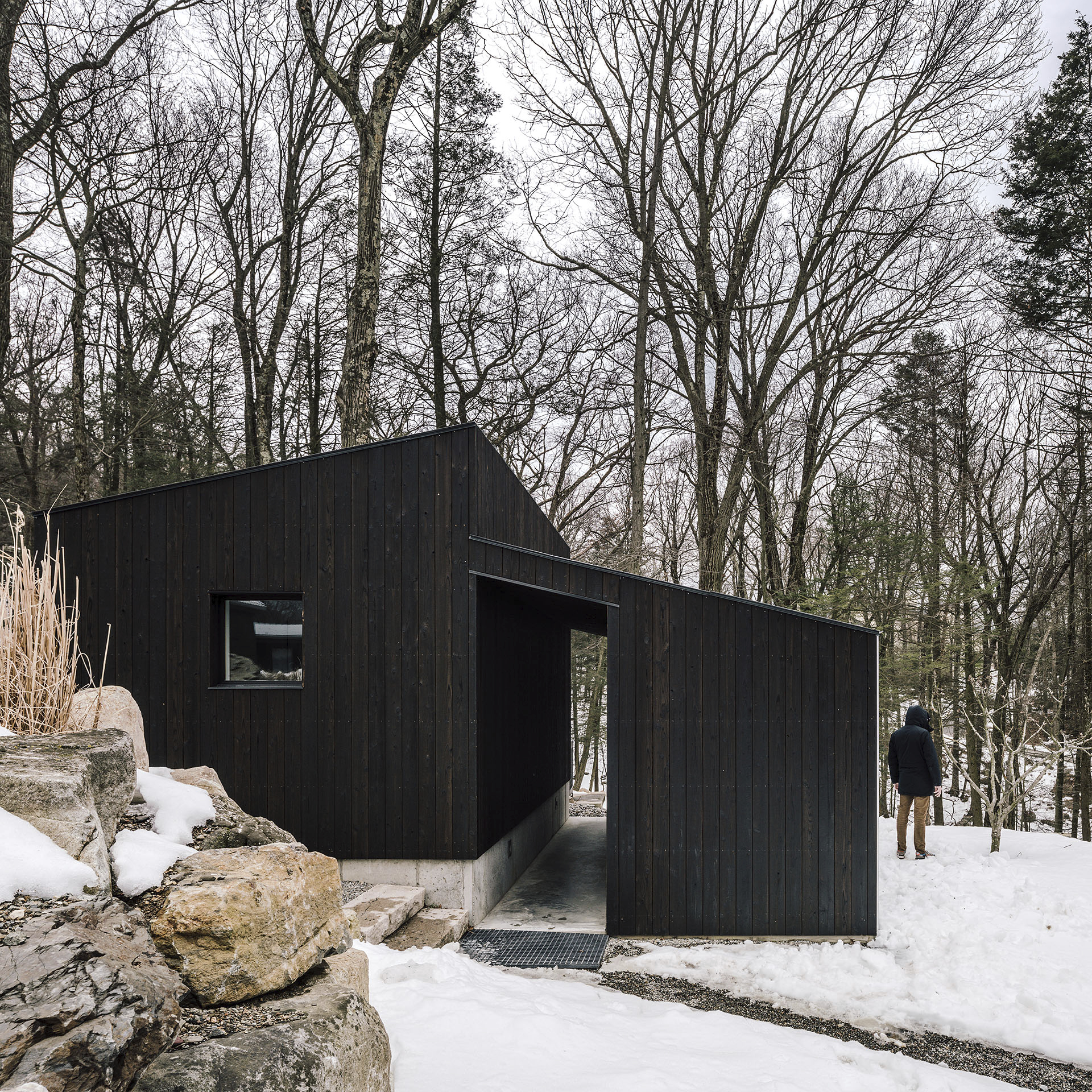 Small Wooden Pavilion, Garrison, NY3