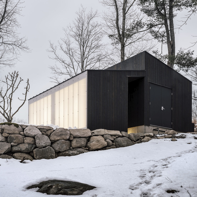 Small Wooden Pavilion, Garrison, N.Y.