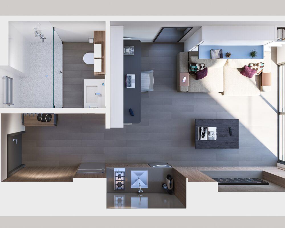 YotelPad: Floorplan