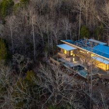 A Hawk's-Eye View from a Haw River Home