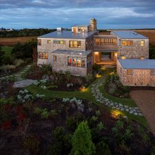 On Martha's Vineyard, the Meadow Beach House by Andrew Franz