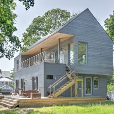 A Passive House in Greenport, L.I.