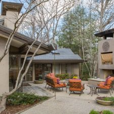 In North Carolina, Honoring a Midcentury Modern