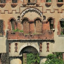 The Bannerman Castle on the Hudson River