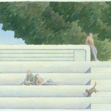 Études: Poetry & Watercolors by John Marx at the Biennale
