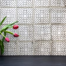 Tile Patterns Created from Sound Waves