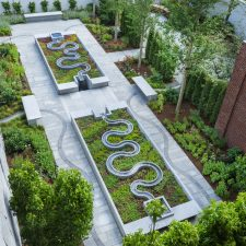A Garden by NBWLA at the Peabody Essex