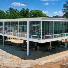 In Bloomington, Tom Phifer Revs Up a Lost Mies Design