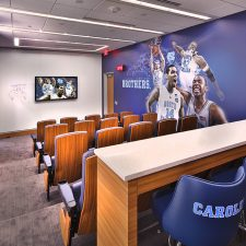 A Cutting-Edge Men's Locker Room at UNC