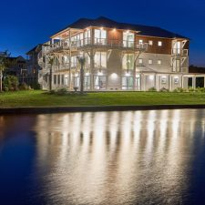 On Oak Island, a Home on the Intracoastal Waterway