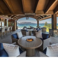 A Clubhouse at Lake Tahoe by SWABACK