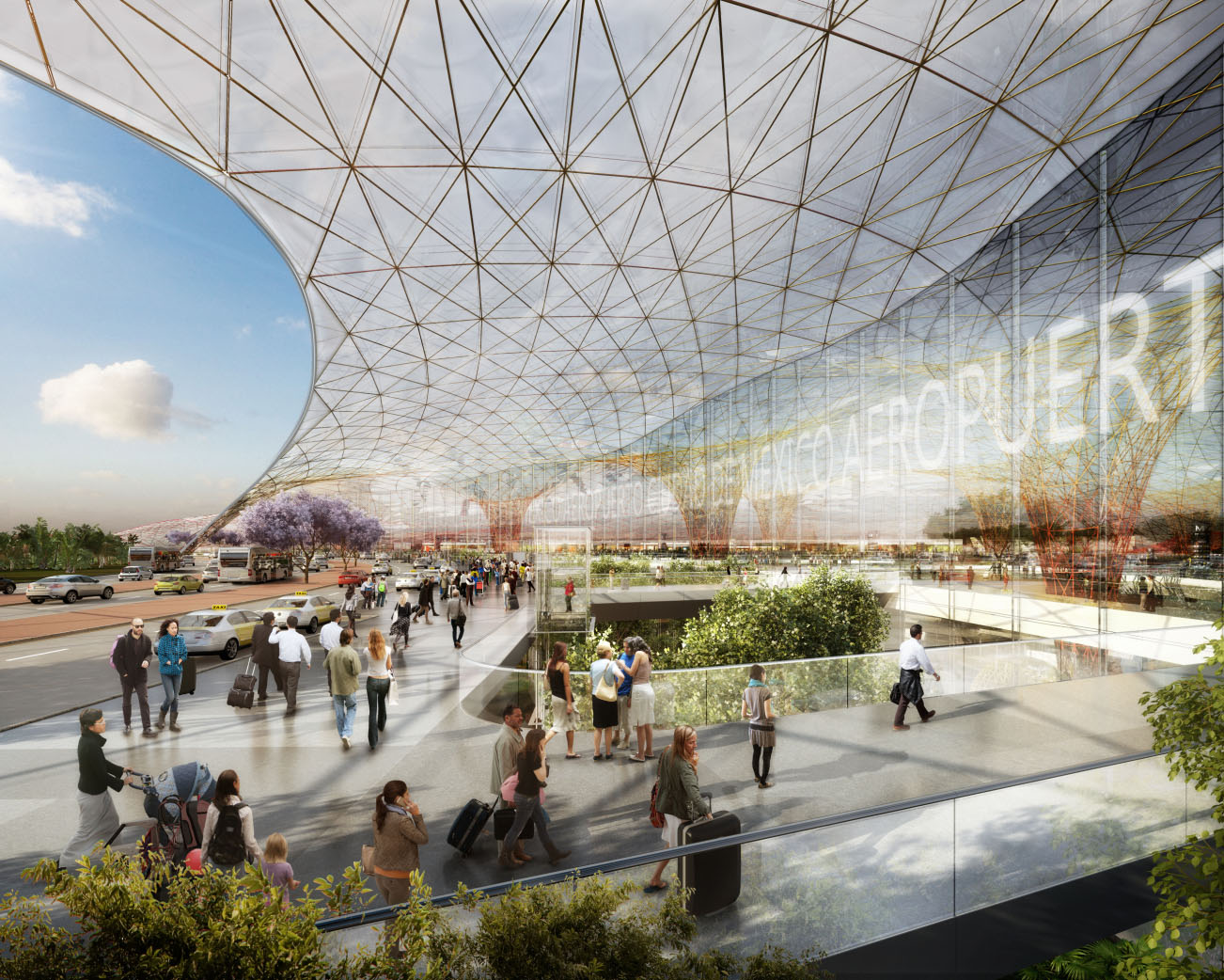 DBOX for Foster + Partners - Mexico City Airport