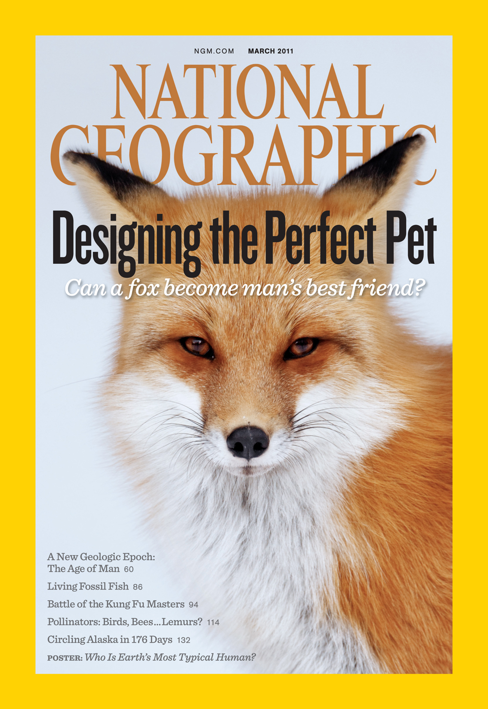 FOR YOUR ONE-TIME EXCLUSIVE USE ONLY AS A TIE-IN WITH THE MARCH 2011 ISSUE OF NATIONAL GEOGRAPHIC MAGAZINE. NO SALES, NO TRANSFERS. ©2011 National Geographic SocietyNational Geographic and the Yellow Border Design are registered trademarks of the National Geographic Society.The cover may not be altered, changed, cropped, reproduced or modified without written permission from the National Geographic Society. Any uses, other than what is expressly agreed to in a contract or other written communication, will require prior written approval from the National Geographic Society.