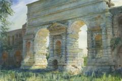 ac-13996d-172-rome-portamaggiore-2012-watercoloronpaper-40x60in